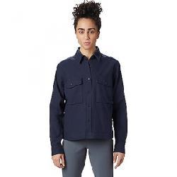 Mountain Hardwear Women's Moiry Shirt Jacket Dark Zinc
