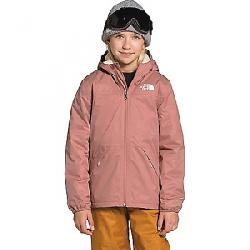 The North Face Girls' Warm Storm Rain Jacket Pink Clay
