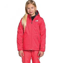 The North Face Girls' Warm Storm Rain Jacket Paradise Pink