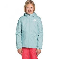 The North Face Girls' Warm Storm Rain Jacket Starlight Blue