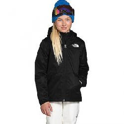 The North Face Girls' Warm Storm Rain Jacket TNF Black