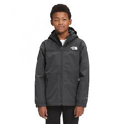 The North Face Boys' Warm Storm Rain Jacket Asphalt Grey Heather