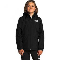 The North Face Boys' Warm Storm Rain Jacket TNF Black