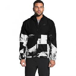 The North Face Men's Novelty Flyweight Hoodie TNF Black Drop City Print / TNF Black