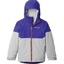 Columbia Boys' Alpine Action II Jacket Columbia Grey Heather / Purple Quartz