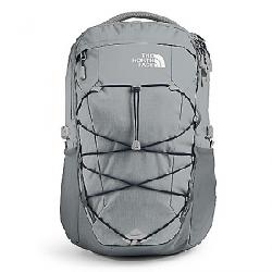 The North Face Borealis Backpack High Rise Grey Light Heather / TNF Navy
