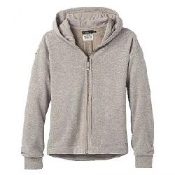 Prana Women's Cozy Up Zip Up Jacket Oatmeal Heather