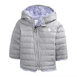 The North Face Infant Reversible Mossbud Swirl Hoodie Meld Grey / Sweet Lavender