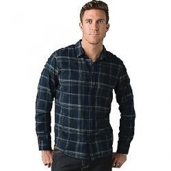 Prana Men's Shayne LS Flannel Shirt Nautical