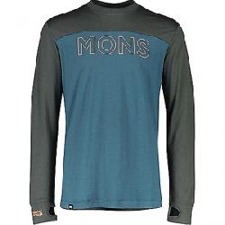 Mons Royale Men's Yotei Tech LS Top Atlantic/Rosin