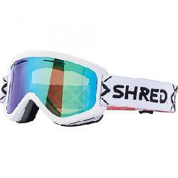 Shred Wonderfy Snow Goggles Bigshow White CBL/Plasma Mirror