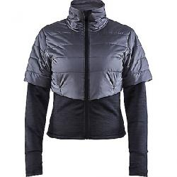 Craft Sportswear Women's ADV Warm Padded Jacket Black / Asphalt