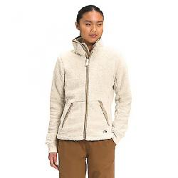 The North Face Women's Campshire Full Zip Jacket Bleached Sand / Hawthorne Khaki