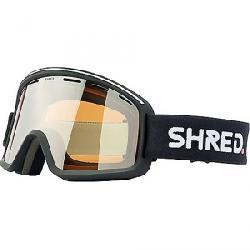 Shred Monocle Snow Goggles Black/Silver Mirror