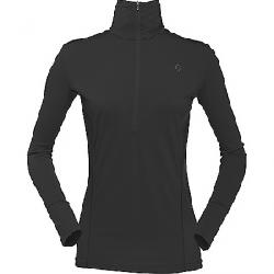 Norrona Women's Wool Zip Neck Baselayer Caviar
