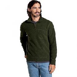 Toad & Co Men's Breithorn 1/4 Zip Sweater Olive