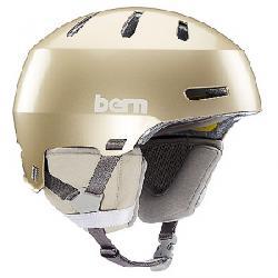 Bern Macon 2.0 MIPS Helmet Metallic Champagne w/ Black Liner