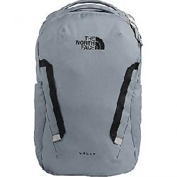 The North Face Vault Backpack Mid Grey Dark Heather / TNF Black