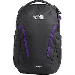 The North Face Women's Vault Backpack Asphalt Grey / Peak Purple