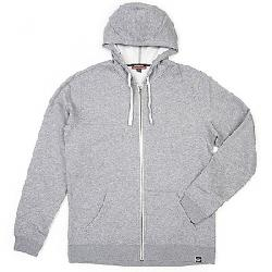 Moosejaw Men's Secret Agent Heavy Weight Zip Hoody Heather Grey