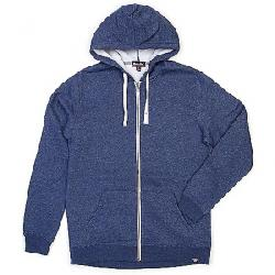 Moosejaw Men's Secret Agent Heavy Weight Zip Hoody Heather Midnight