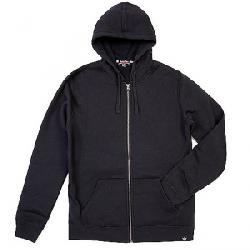 Moosejaw Men's Secret Agent Heavy Weight Zip Hoody Black