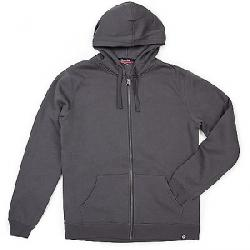 Moosejaw Men's Secret Agent Heavy Weight Zip Hoody Smoke