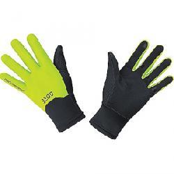 Gore Wear M Windstopper Glove Black / Neon Yellow