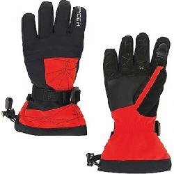 Spyder Boys' Overweb Glove Volcano