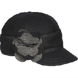 Stormy Kromer Women's Petal Pusher Cap Black/Charcoal