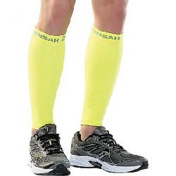 Zensah Compression Leg Sleeve Neon Yellow