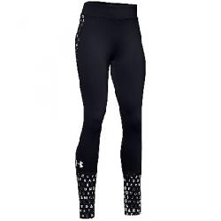 Under Armour Girls' ColdGear Legging Black / White