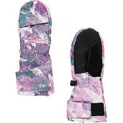 Spyder Girls' Bitsy Cubby Ski Mitten Downhill Dots Print