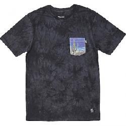HippyTree Men's Saguaro Cloud Wash Tee Asphalt