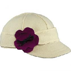 Stormy Kromer Kid's The Lil' Petal Pusher Cap Winter White/Raspberry