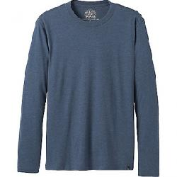 Prana Men's LS T-Shirt Denim Heather