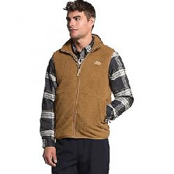 The North Face Men's Dunraven Sherpa Vest Utility Brown
