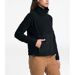 The North Face Women's TKA Glacier Funnel-Neck Pullover TNF Black / TNF Black
