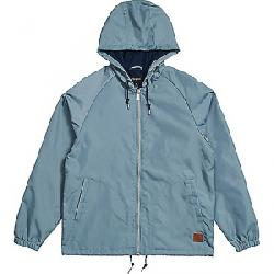 Brixton Men's Claxton Windbreaker Jacket Blue Haze