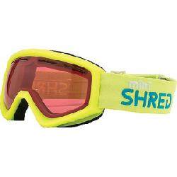 Shred Kids' Mini Snow Goggle Mini Ruby