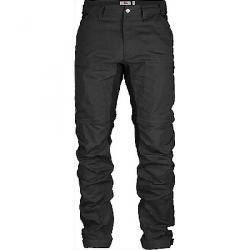 Fjallraven Men's Abisko Lite Trekking Zip-Off Trouser Dark Grey / Black