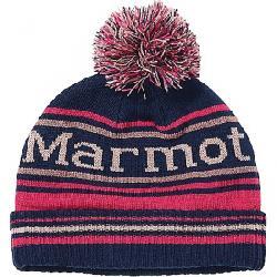 Marmot Kids' Retro Pom Hat Arctic Navy / Very Berry