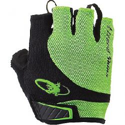 Lizard Skins Aramus Elite Short Gloves Jet Black/Lime