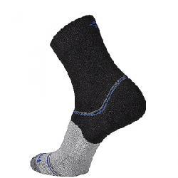 Wigwam Surpass Lightweight Mid Crew Sock Black/Grey