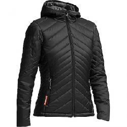 Icebreaker Women's Stratus LS Zip Hoody Black / Monsoon / Black