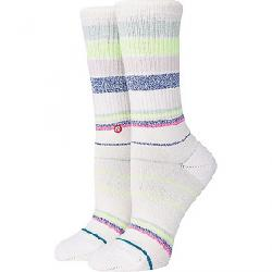 Stance Happy Thoughts Crew Sock Off White