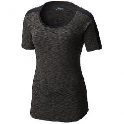 Columbia Women's OuterSpaced SS Tee Black Spacedye