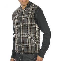 Jeremiah Men's Micah Reversible Quilted Vest Flint Heather