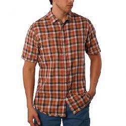 Jeremiah Men's Nomad Reversible Plaid with Print SS Shirt Cajun