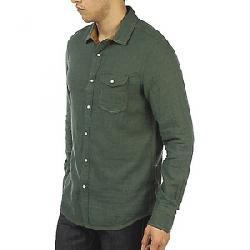 Jeremiah Men's Chase Reversible Melange Gauze Shirt Deep Pine Heather